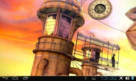 Steampunk Travel Pro 3D LWP v1.1