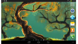 تصویر محیط Woody Land : Tree live wallpaper Parallax 3D Pro v1.4.4