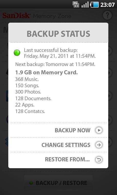 SanDisk Memory Zone v2.0