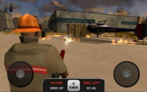 تصویر محیط Firefighter Simulator 3D v1.6.2