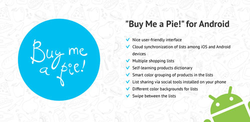 Buy Me a Pie! Grocery List Pro v1.6.6