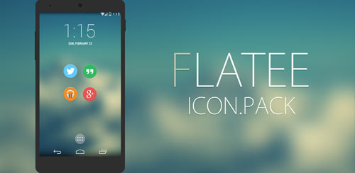 Flatee-Icon-pack