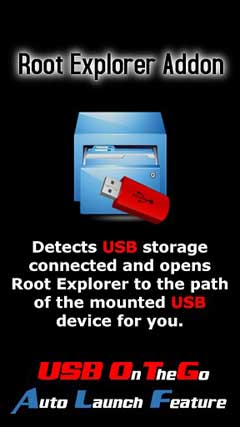 Root Explorer USB Addon v1.0
