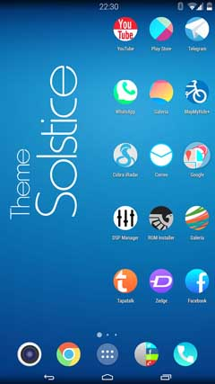 Solstice HD Theme Icon Pack v.1.0