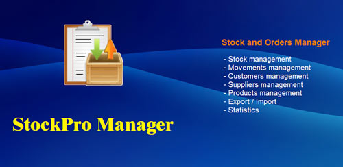 Stock and Orders Manager v1.11