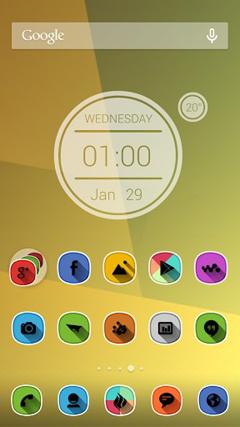 Vibrance HD Apex Nova Holo Adw v3.0
