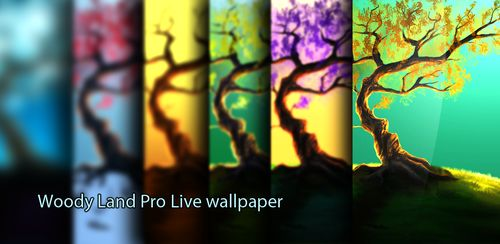 Woody Land : Tree live wallpaper Parallax 3D Pro v1.4.4