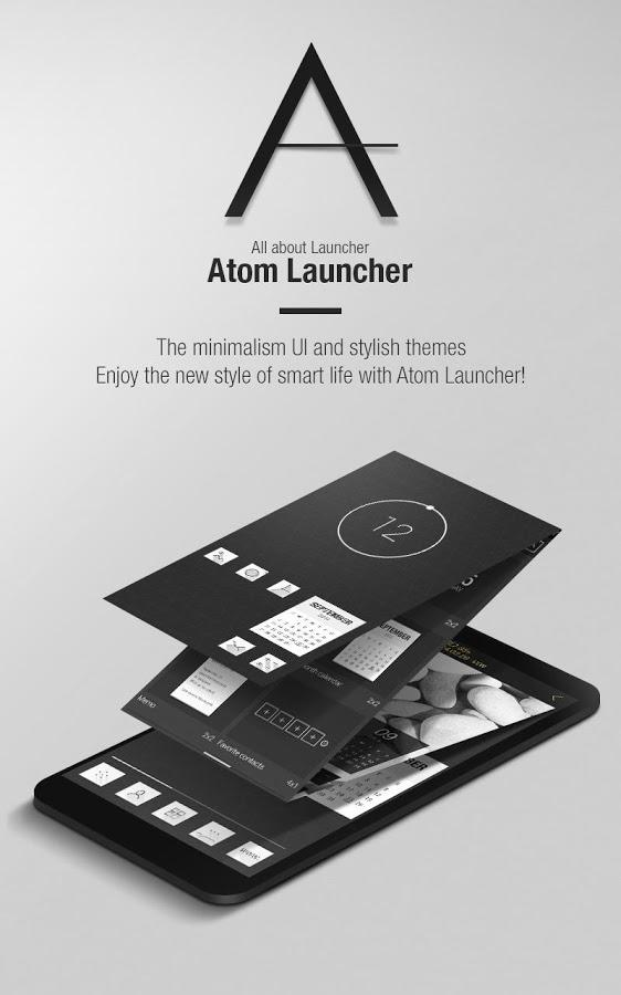 Atom Launcher v2.0.0