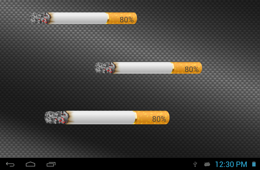 Cigarette Battery HD Widget – v1.0.1