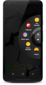 تصویر محیط Wheel Launcher Full customizable sidebar v1.452