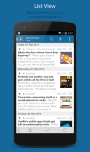 تصویر محیط News+ | Google News RSS Reader v2.0.2