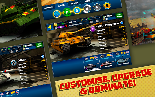 Boom! Tanks v1.0.39 + data