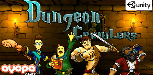 بازی اکشن اندروید Dungeon Crawlers v1.2.1 + data