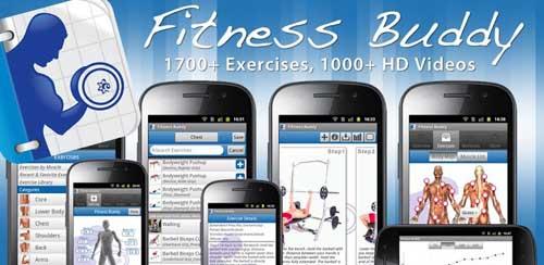 نرم افزار بدنسازی و تناسب اندام اندروید Fitness Buddy : 1700 Exercises v3.0