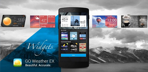GO Weather Forecast & Widgets Premium v5.775