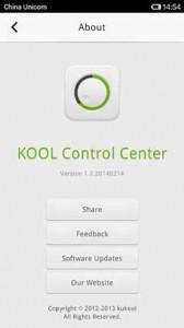 KOOL Control Center2