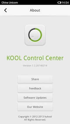 KOOL Control Center v1.4.20140315