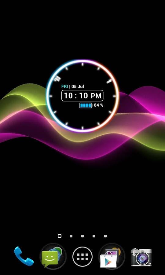 Neon Clock Widget Full v5.2