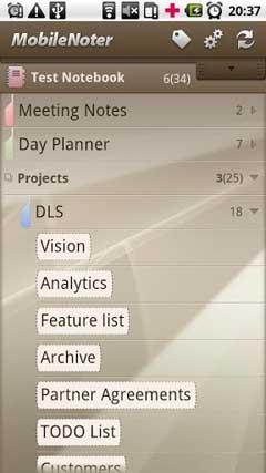 MobileNoter SE v4.4.2
