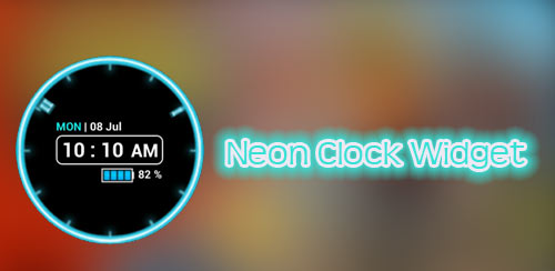 Neon Clock Widget Full v5.2