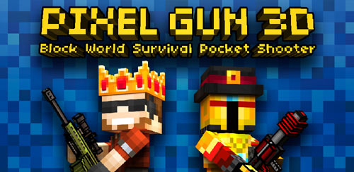 Pixel Gun 3D (Pocket Edition) v13.5.2 + data