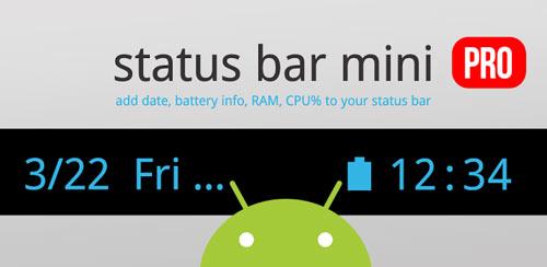 Status Bar Mini PRO v1.0.206