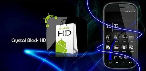 Theme Crystal Black HD Pack v6.5