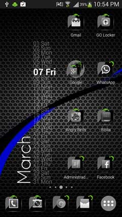 Theme Crystal Black HD Pack v6.5