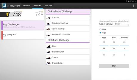 Virtual Trainer Bodyweight v1.3.6