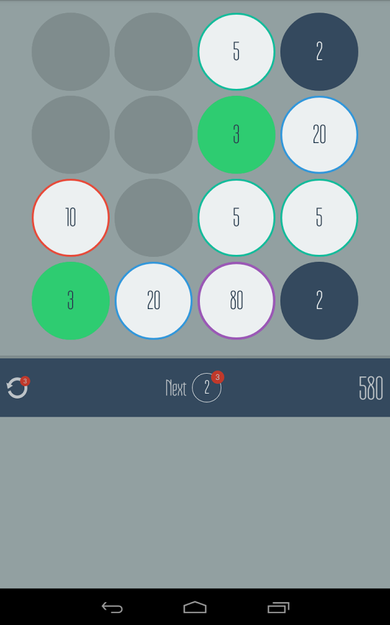 Fives – Match Twos and Threes! 1.4.1
