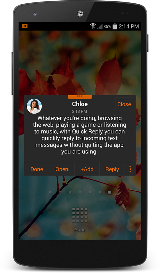 chomp SMS Pro v7.18 build 9071804