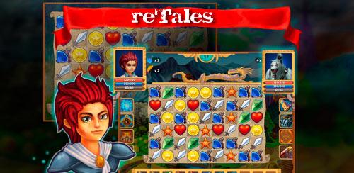 بازی پازل برای اندروید reTales v1.0 – Unlimited Gold/Gems + data