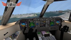 تصویر محیط Flight Simulator Online 2014 FlyWings v7.0.0 + data