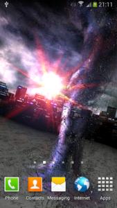 تصویر محیط Tornado 3D v1.6