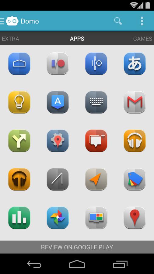 Domo – Icon Pack v1.0