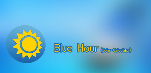 Blue Hour (Solar Calculator) v3.10.8