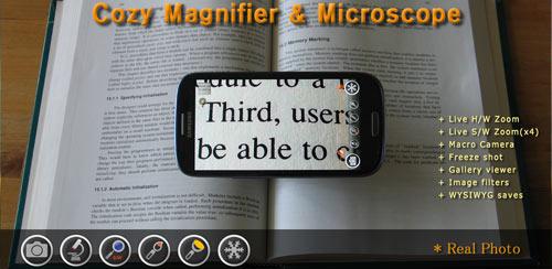 Cozy Magnifier & Microscope + v1.80