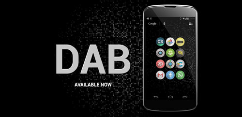 DAB – Icon Pack v1.2.0