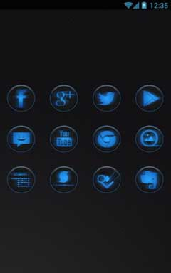 Dark Steel Icon Pack v1.0
