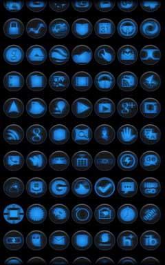 Dark Steel Icon Pack v1.0