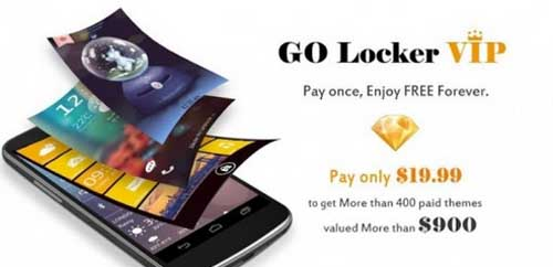 GO Locker VIP – theme & wallpaper v6.01