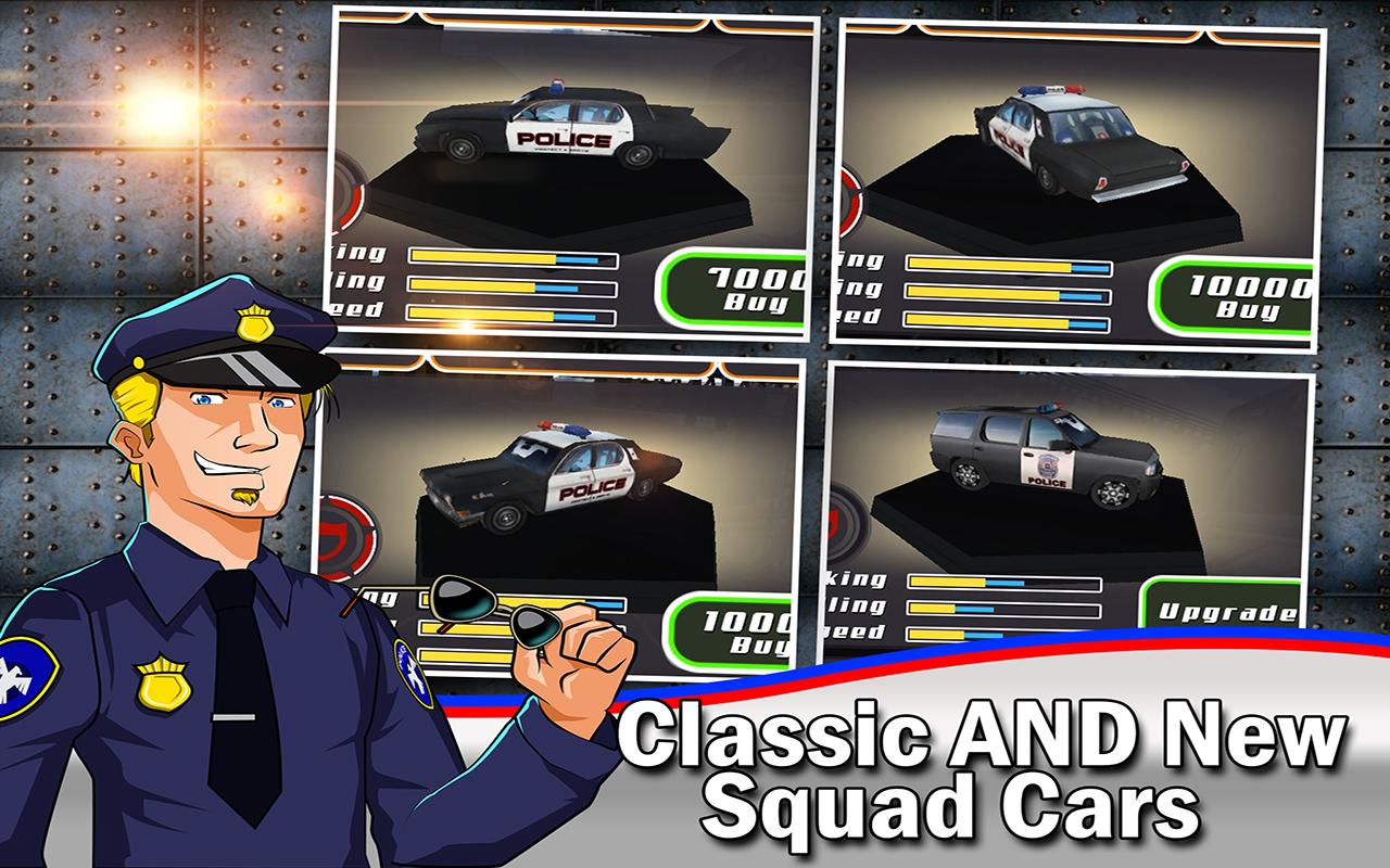 Cop Car Smash ! Police Racer v1.0