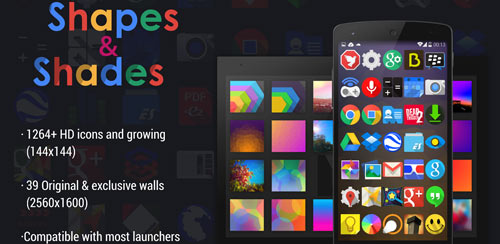 Shapes & Shades icons&walls v1.9