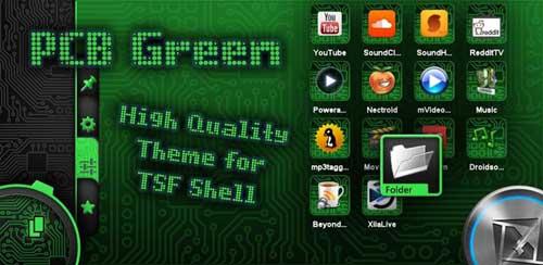 TSF Shell Green Theme v1.0