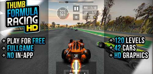 Thumb Formula Racing v1.0 – Unlimited
