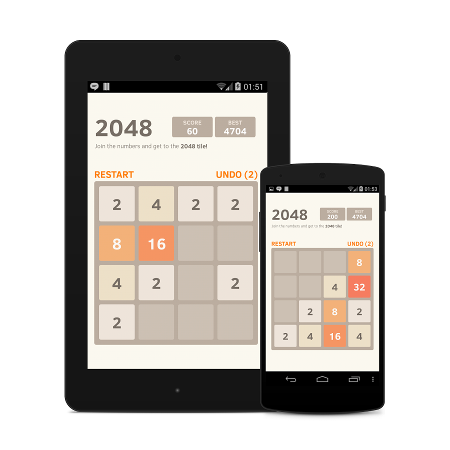 2048 Number puzzle game 6.05