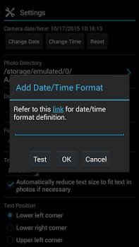 Camera Timestamp v3.55