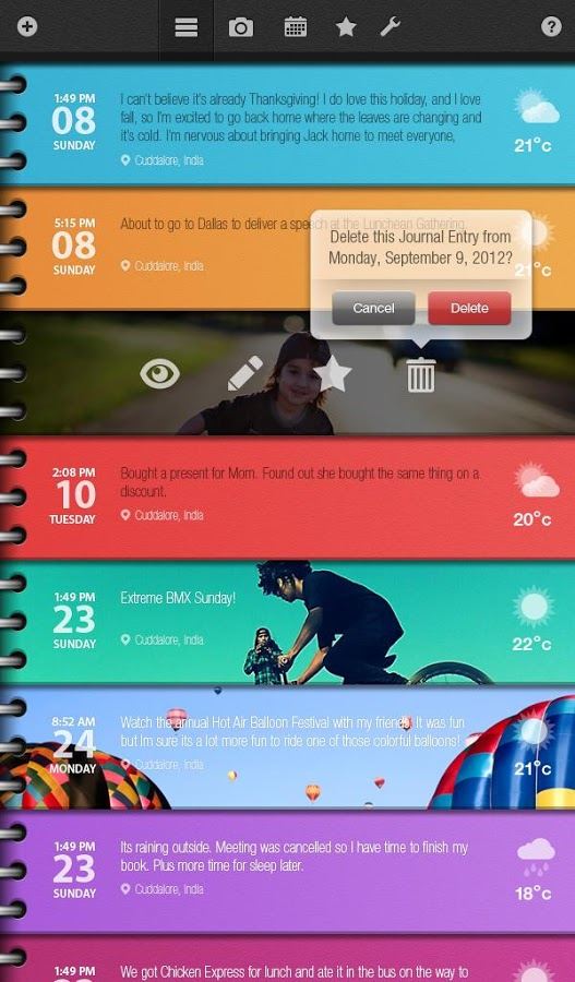 Day in Life Journal – Tablets v3.0.1
