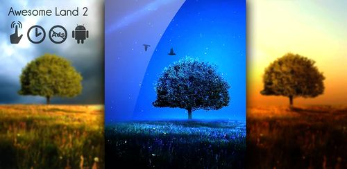 Awesome-Land 2 live wallpaper : Plant a Tree !! v1.9.2