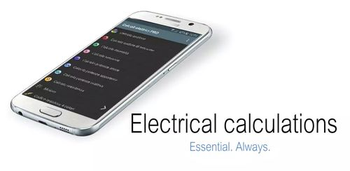 Electrical calculations PRO v7.2.0